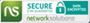 Secure transactions with networkSolutions